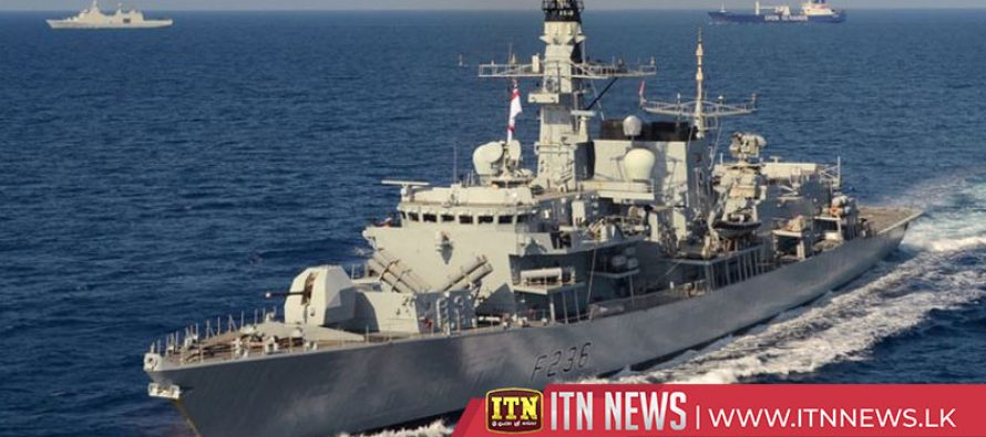 File of British warship that warned off Iranian boats in Gulf