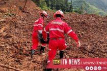 சீனாவில் ஏற்பட்ட நிலச்சரிவினால் இதுவரை 38 பேர் பலி