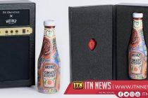 Ed Sheeran Ketchup bottle sells for £1500