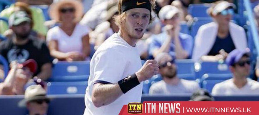 Federer beaten by Russian qualifier Rublev in Cincinnati