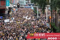 Tens of thousands pro-China supporters gather to support authorities