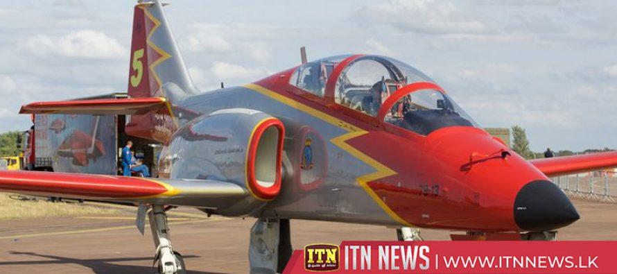 Spanish air force jet crashes into sea, pilot killed