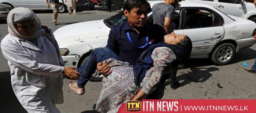 Bomb attack in Kabul kills at least 18 people