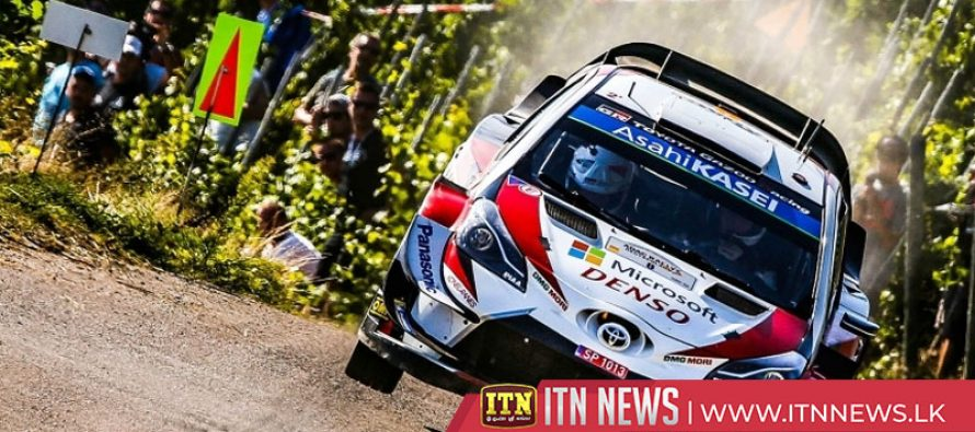 Tanak holds narrow lead over Neuville in Rally Germany