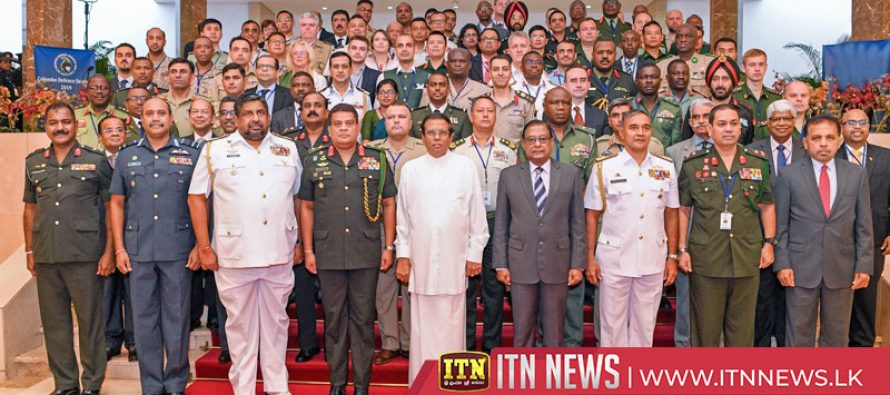 Colombo defence seminar gets underway