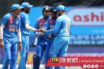 Navdeep Saini shines on debut in India's laboured win