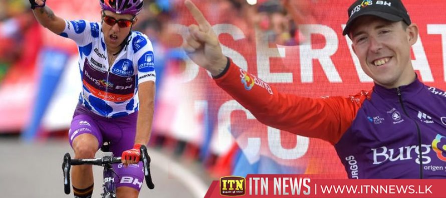 Madrazo claims improbable Vuelta stage win, Lopez in red