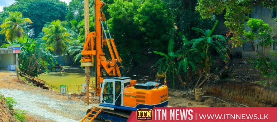 Pumping Stationto prevent flooding in Colombo