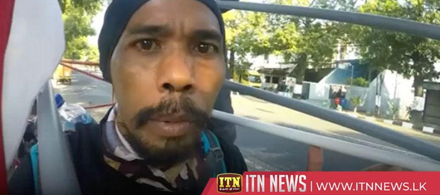 Indonesian man walks backwards for 700km to save the forests