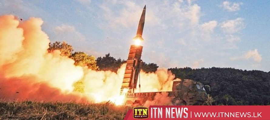 North Korea fires more missiles as South begins joint drill with US