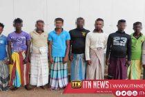 சட்டவிரோத மீன்பிடியில் ஈடுபட்ட 9 பேர் கடற்படையினரால் கைது