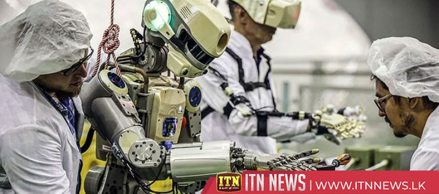 Russian robot readied for space station trip