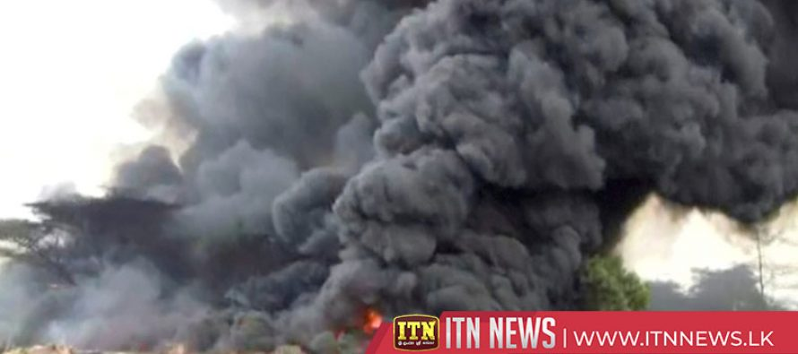 Tanzania tanker explodes killing dozens trying to siphon fuel