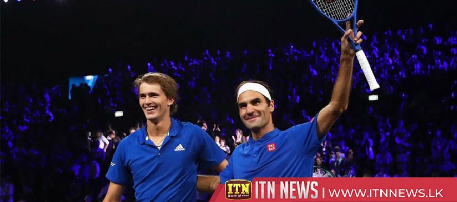 Federer and Zverev guide Europe to 3-1 lead in Laver Cup