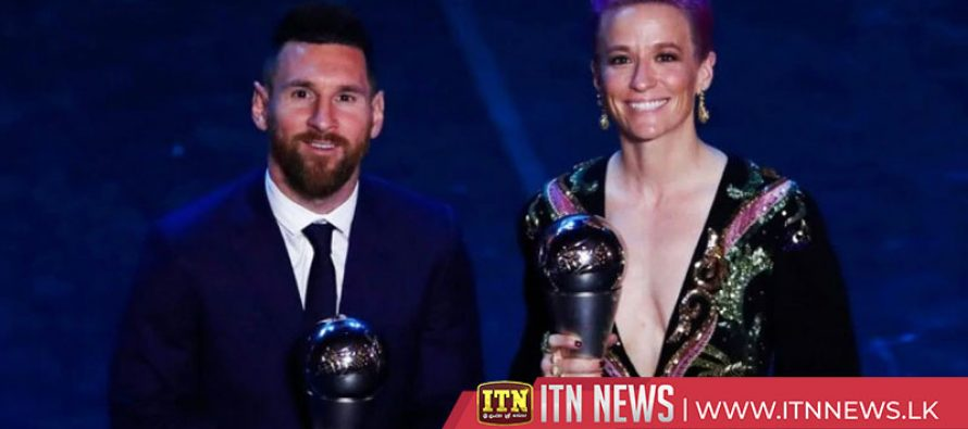 Messi, Rapinoe best players in the world at FIFA awards