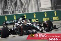 Hamilton fastest in second practice in Singapore