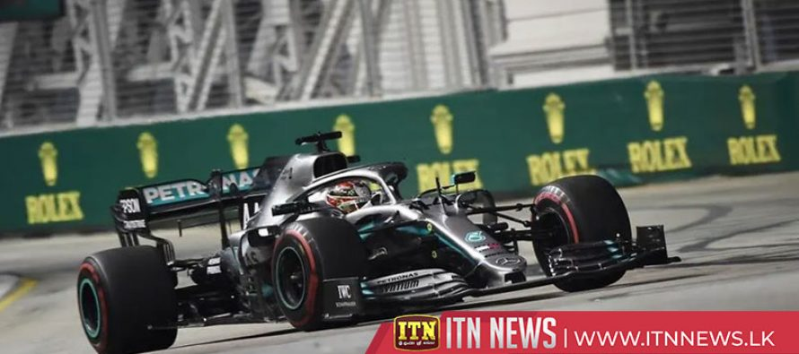 Hamilton fastest in second practice in Singapore