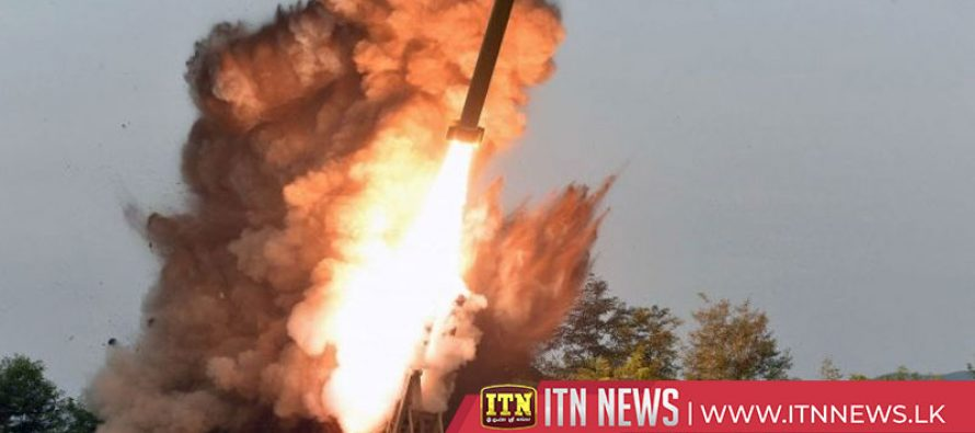 North Korea carried out super-large multiple rocket launcher test on Tuesday
