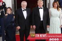 Trump welcomes Australian Prime Minister Morrison for State Dinner