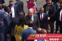 U.N. chief visits Congo as death toll from Ebola outbreak reaches 2,000