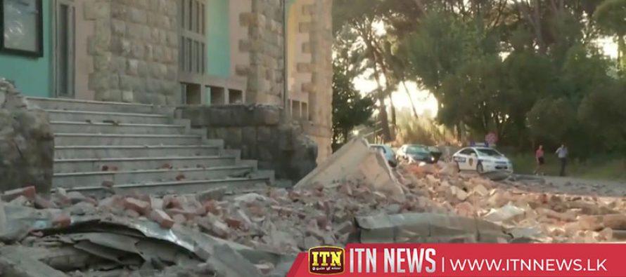 More than 100 injured after earthquake rocks Albania