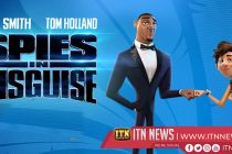 Upcoming American computer-animated spy comedy: Spies in Disguise