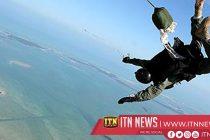 An Army Commando dies during a parachute training