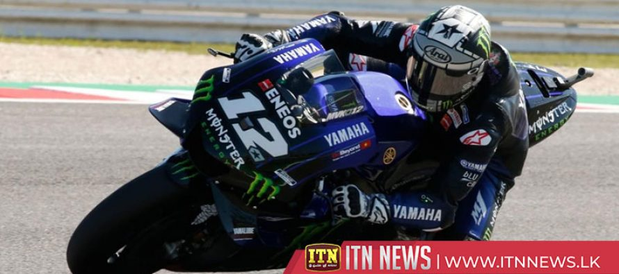 Vinales on pole in Misano, sparks between Rossi and Marquez