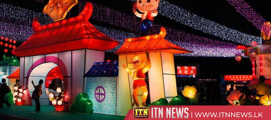 Hong Kong puts on lantern show for Mid-Autumn Festival