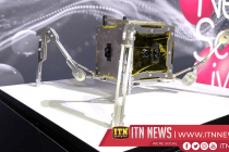 Tiny walking rover bound for the moon