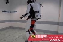Paralysed man harnesses brain power to walk again with robot exoskeleton