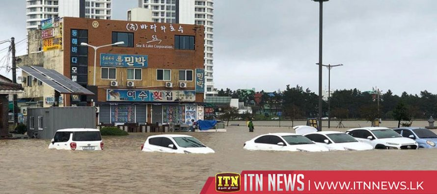 Six killed as typhoon Mitag sweeps parts of South Korea