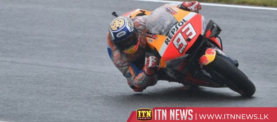 World champion Marquez on pole at Motegi