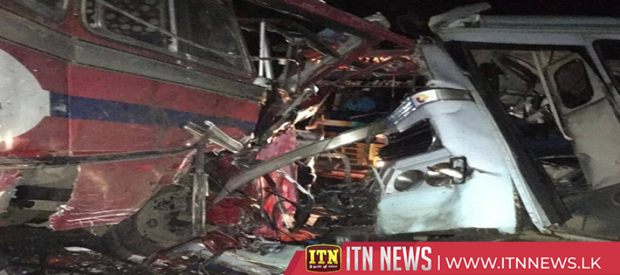 One killed and 51 injured in bus accident