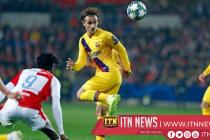 Slavia Praha vs Barcelona 1-2
