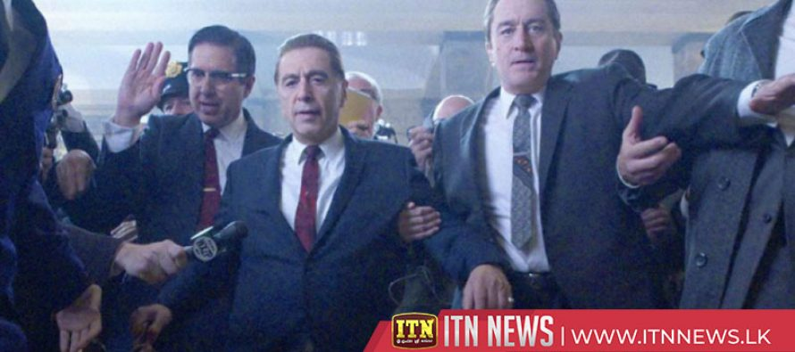 """""""The Irishman"""" scheduled to receive a limited theatrical release this Friday"""