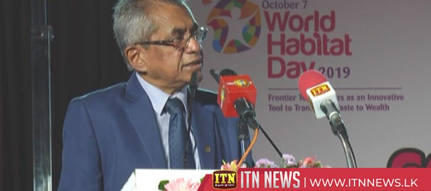 World Habitat Day commemorated