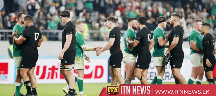 All Blacks batter Ireland 46-14 to reach World Cup semis