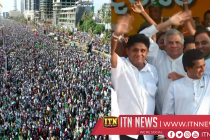 Galle Face Green turns into a sea of heads atUNP rally