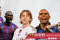 Real Madrid's Luka Modric given Golden Foot award