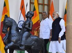 SL President makes first foreign visit to India