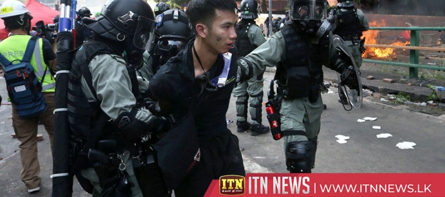 ஹொங்கொங்கில் ஆர்ப்பாட்டத்தில் ஈடுபட்ட ஆயிரத்திற்கும் மேற்பட்டோர் கைது