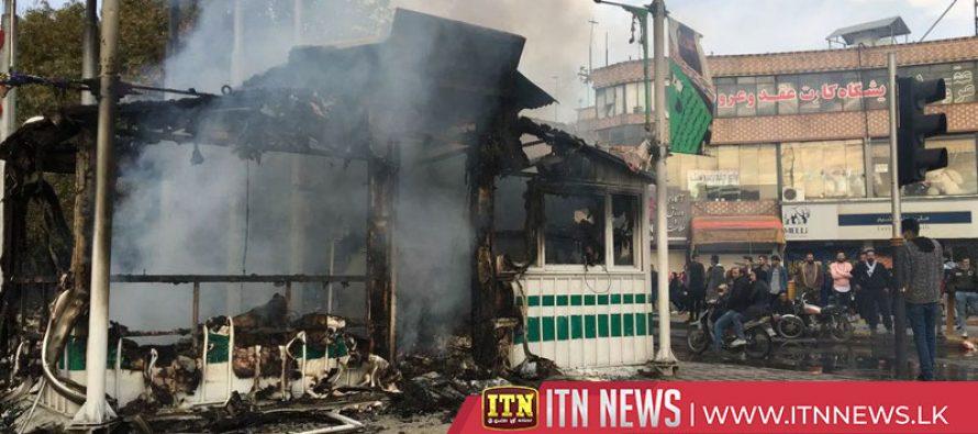 ஈரானில் எதிர்ப்பு ஆர்ப்பாட்டங்களில் ஈடுபட்ட 106 பேர் பலி