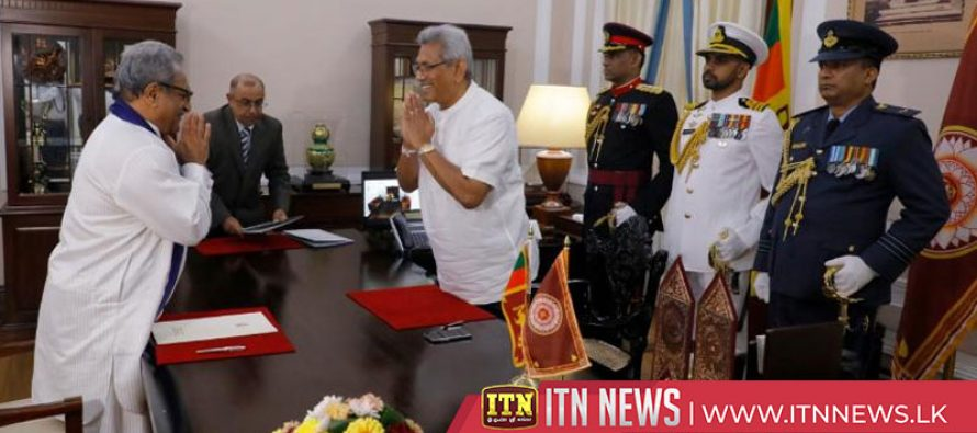 Six new Provincial Governors sworn in before the President