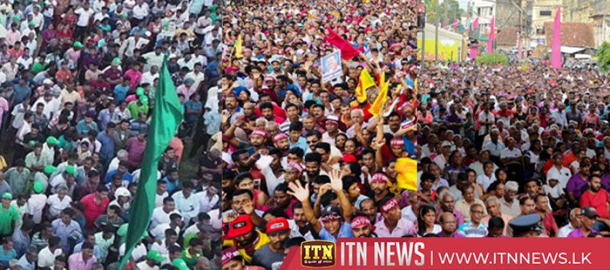 ஜனாதிபதி தேர்தல் பிரச்சார நடவடிக்கைகள் நாளை நள்ளிரவு 12 மணியுடன் நிறைவு