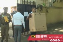 Ballot Boxes transported to respective polling centres