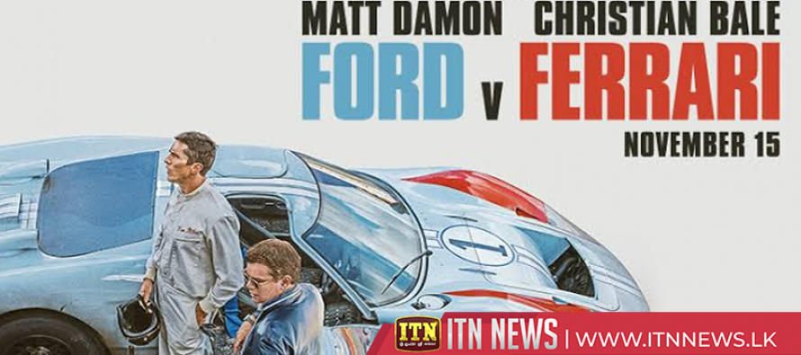 """""""Ford v Ferrari"""" scheduled to be theatrically released this Friday"""