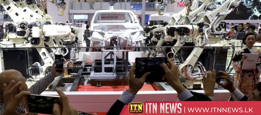 Japanese company to show industrial robots at Shanghai import expo