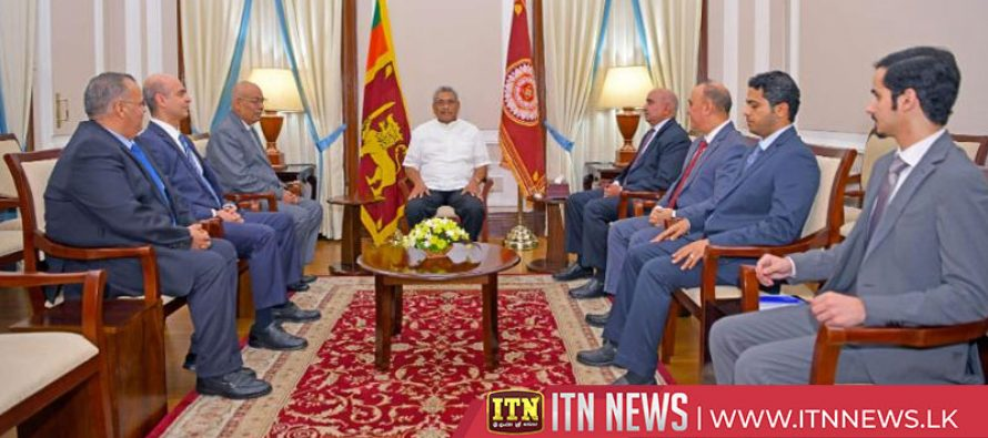 Ties between Middle East countries and Sri Lanka will be strengthened