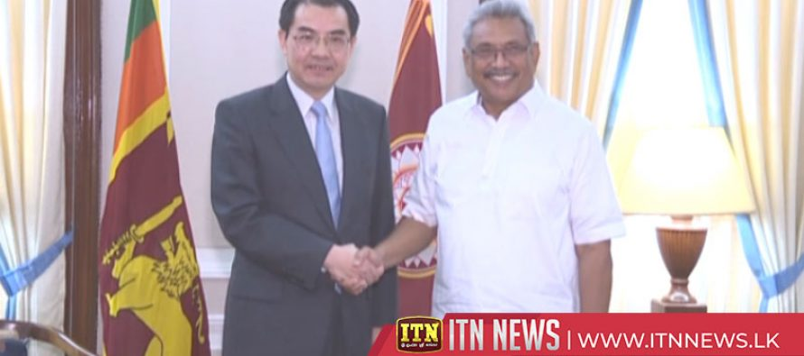 President meets Canadian HC and a Chinese Special representative